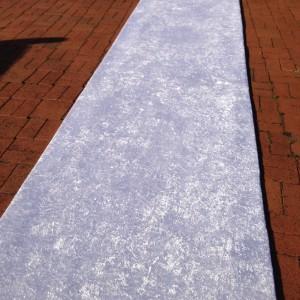 Classic White Carpet Aisle runner
