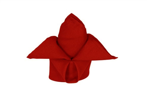 Red Polyester Napkin